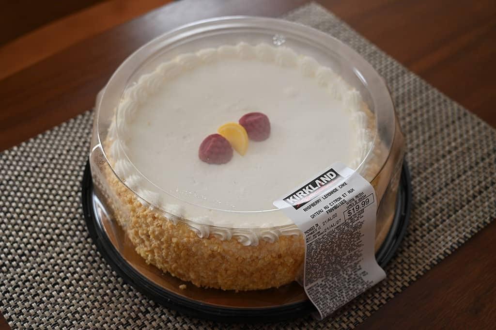 Costco Kirkland Signature Raspberry Lemonade Cake