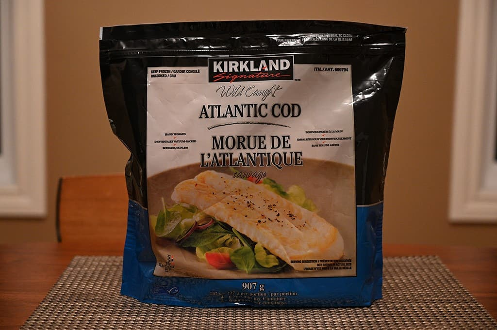 Costco Kirkland Signature Frozen Cod