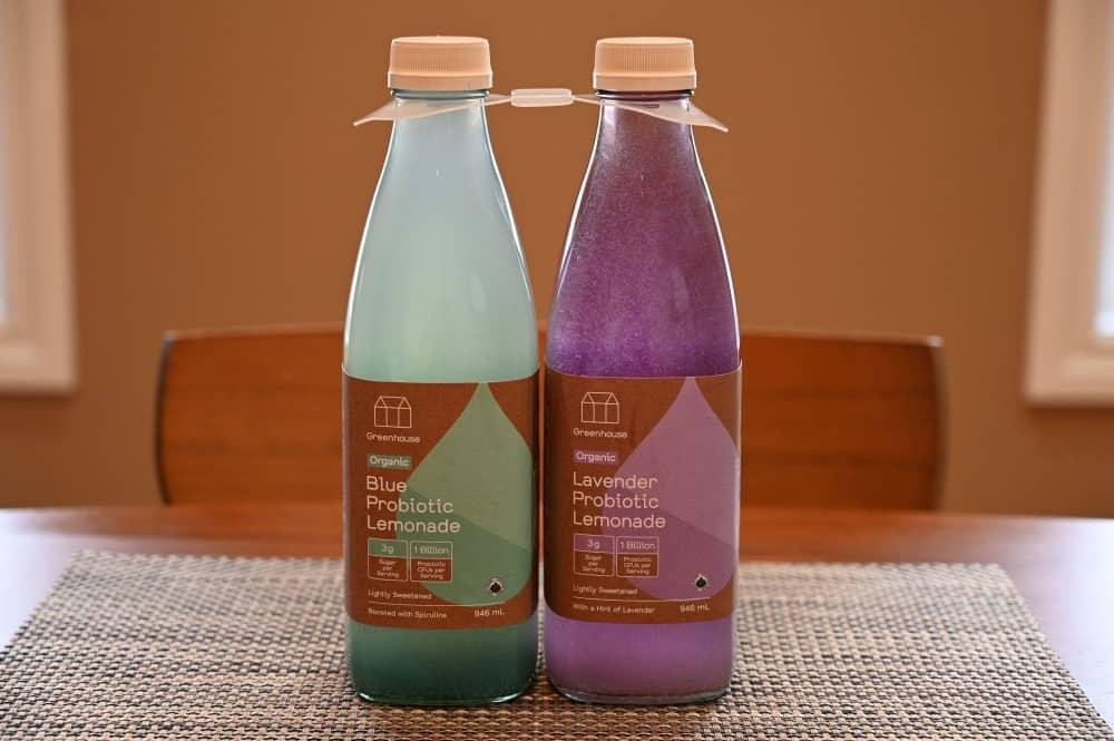 Costco Greenhouse Organic Probiotic Lemonade
