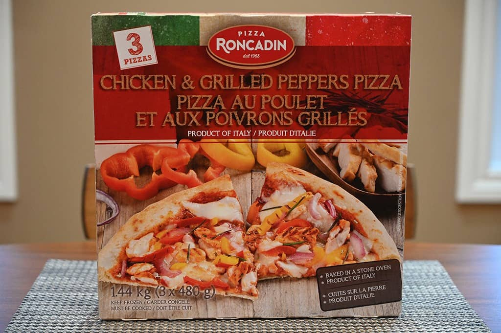 Costco Pizza Roncadin Chicken & Grilled Peppers Pizza