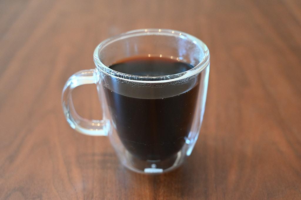 Cup of Ethical Bean Coffee Lush Medium Dark Roast