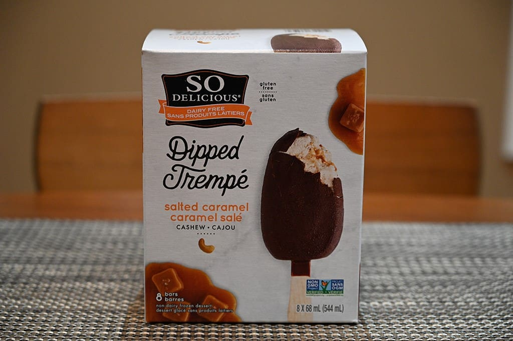 Costco So Delicious Dipped Salted Caramel Frozen Dessert Bars