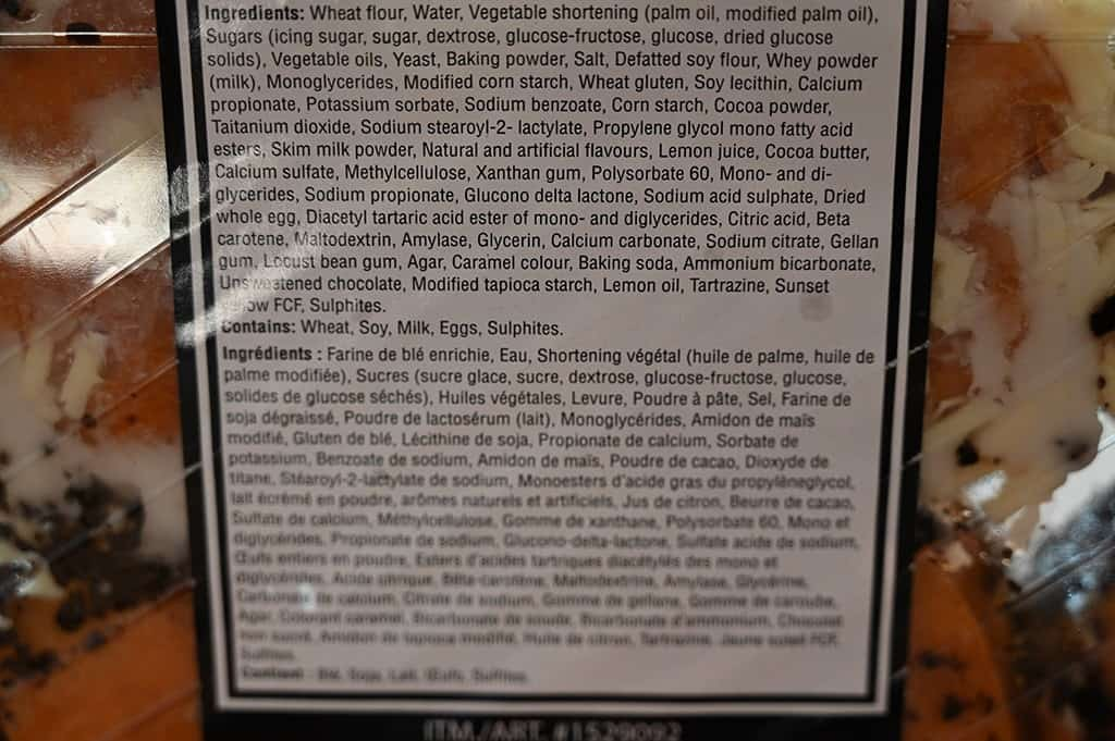 Costco Indulgence Filled Donuts Nutrition Information