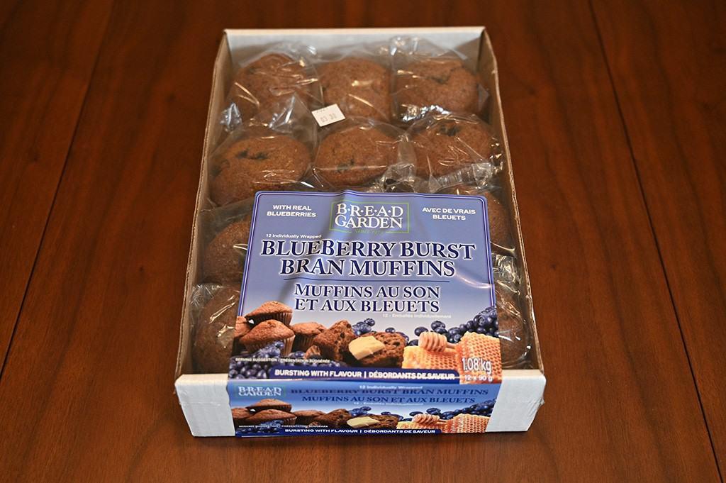 Costco Bread Garden Blueberry Burst Bran Muffins
