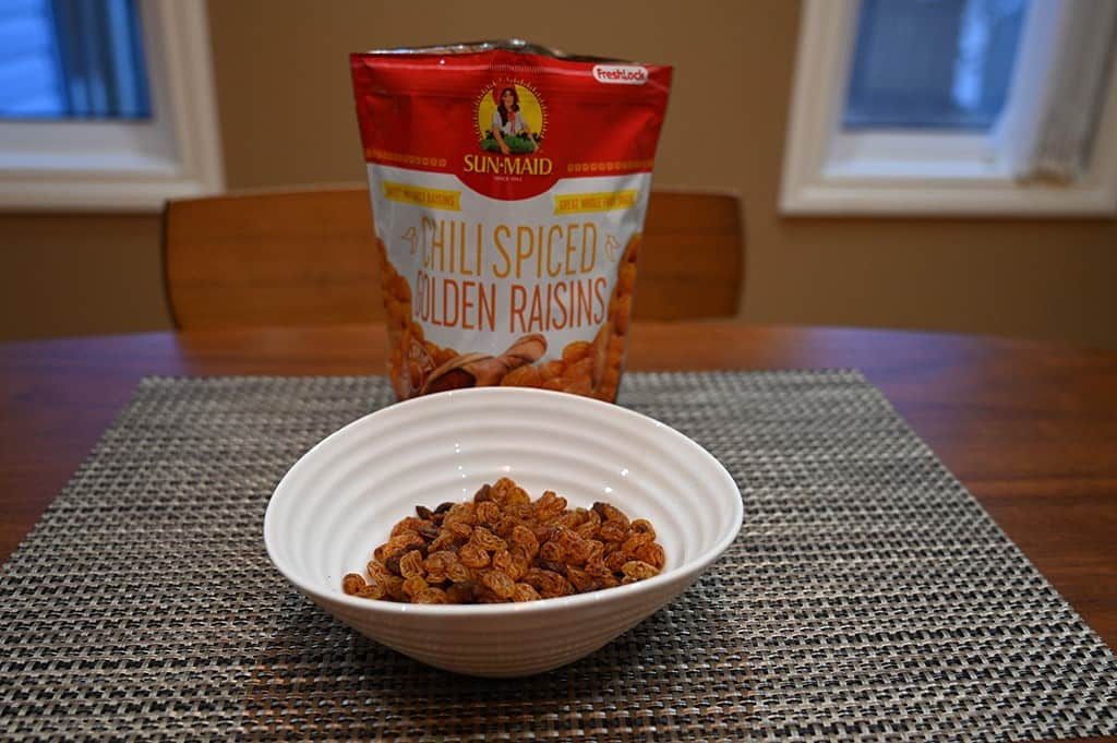 Costco Sun-Maid Chili Spiced Golden Raisins