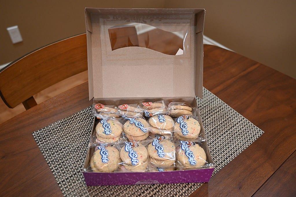 Costco School Safe Birthday Surprise Cookies