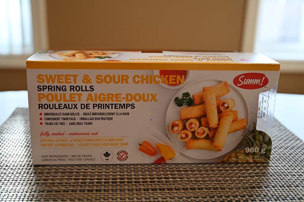Costco Summ! Sweet & Sour Chicken Spring Rolls