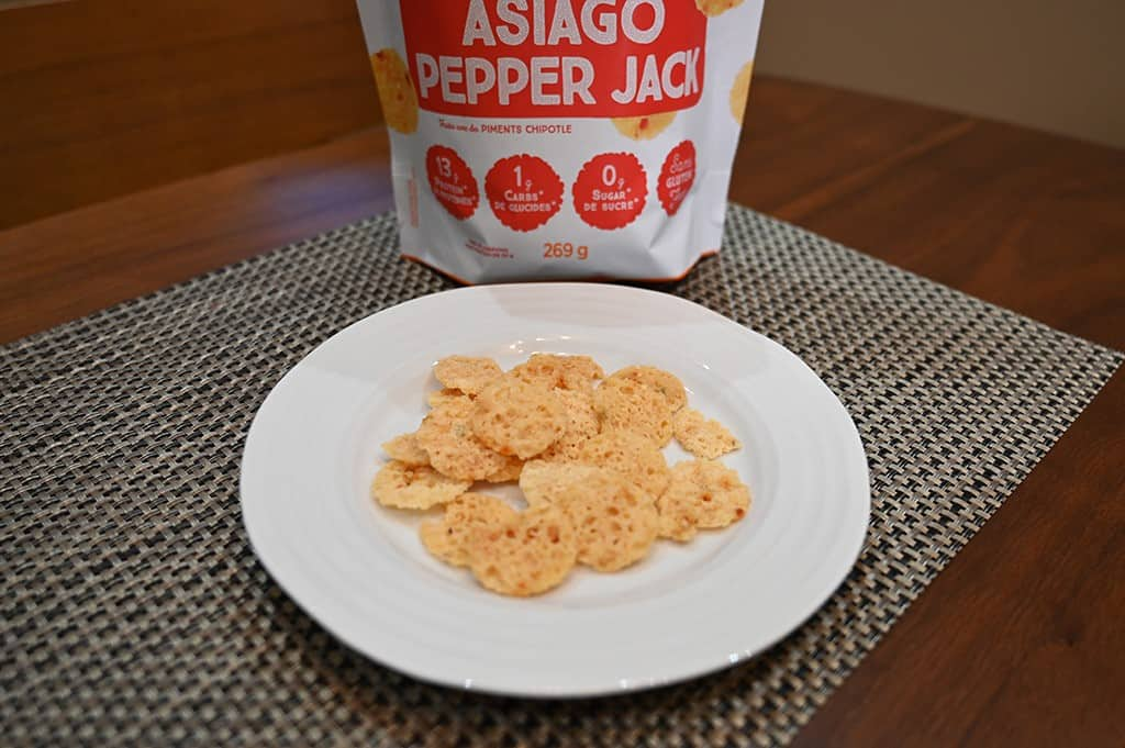 Costco low-carb cheese crips