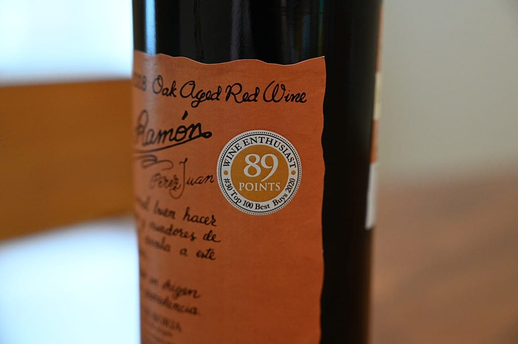 Costco Don Ramon Oak Aged Red Wine Wine Enthusiast Rating