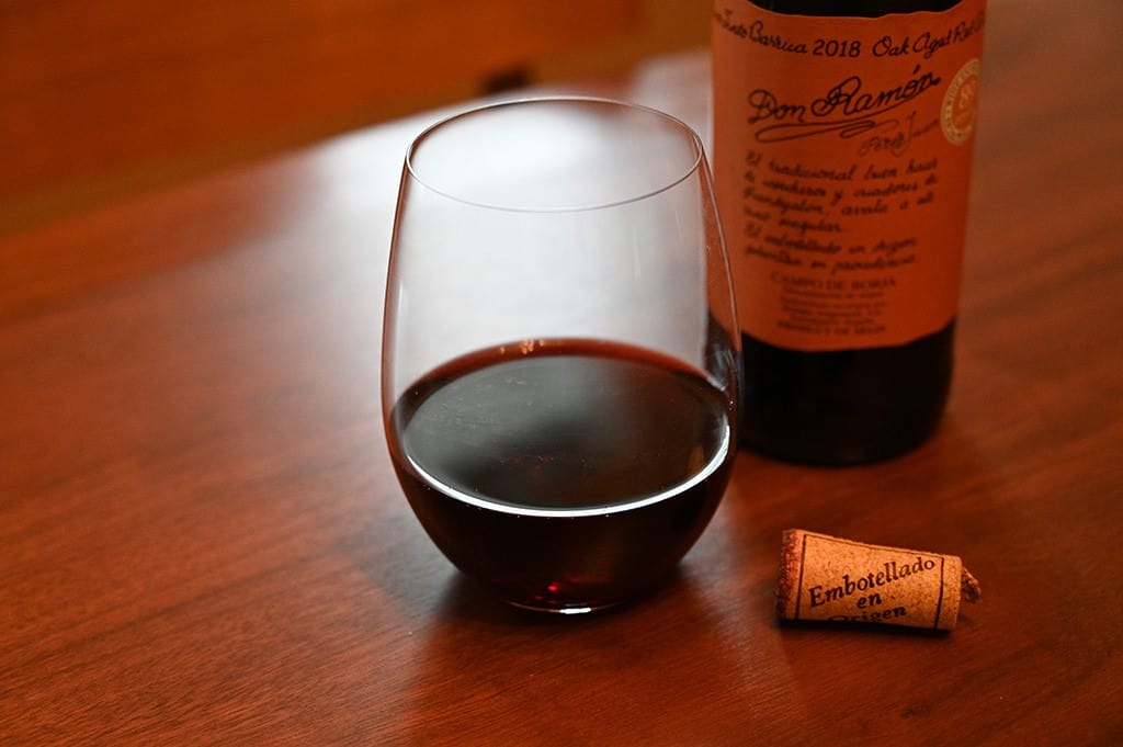 Costco Don Ramon Oak Aged Red Wine