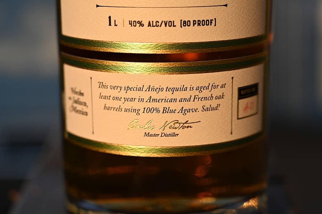 Costco Kirkland Signature Anejo Tequila