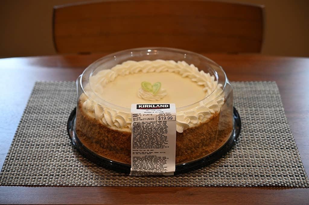 Costco Kirkland Signature Key Lime Cake