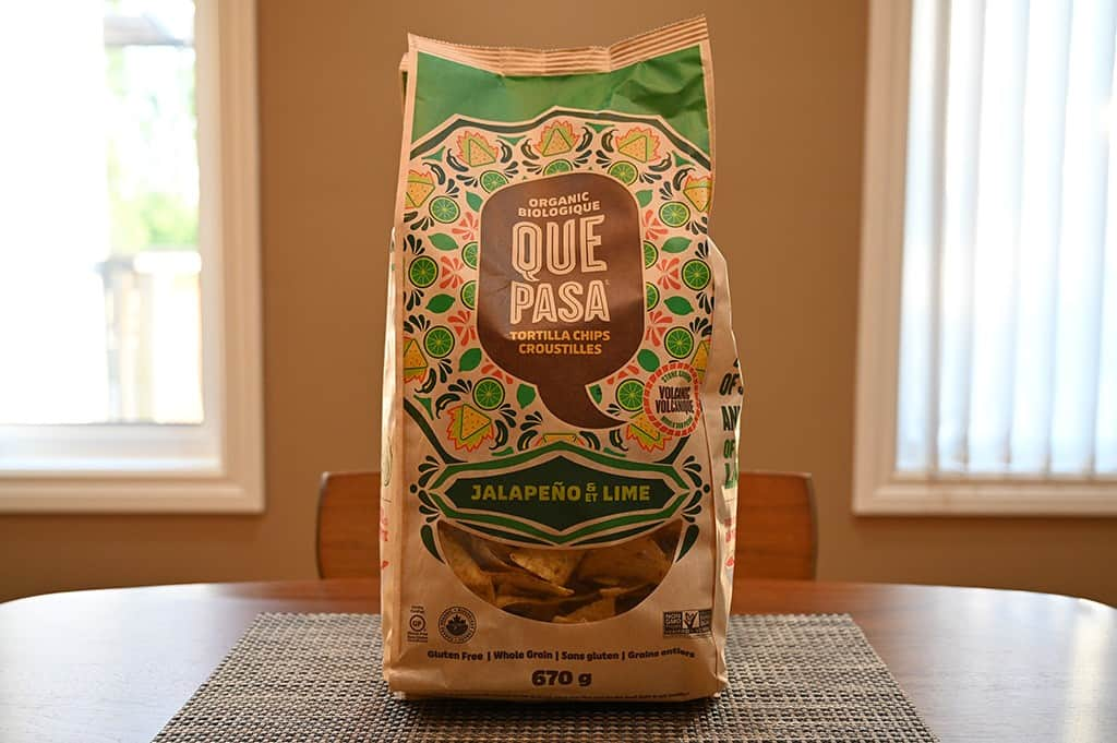 Costco Que Pasa Jalapeno & Lime Tortilla Chips