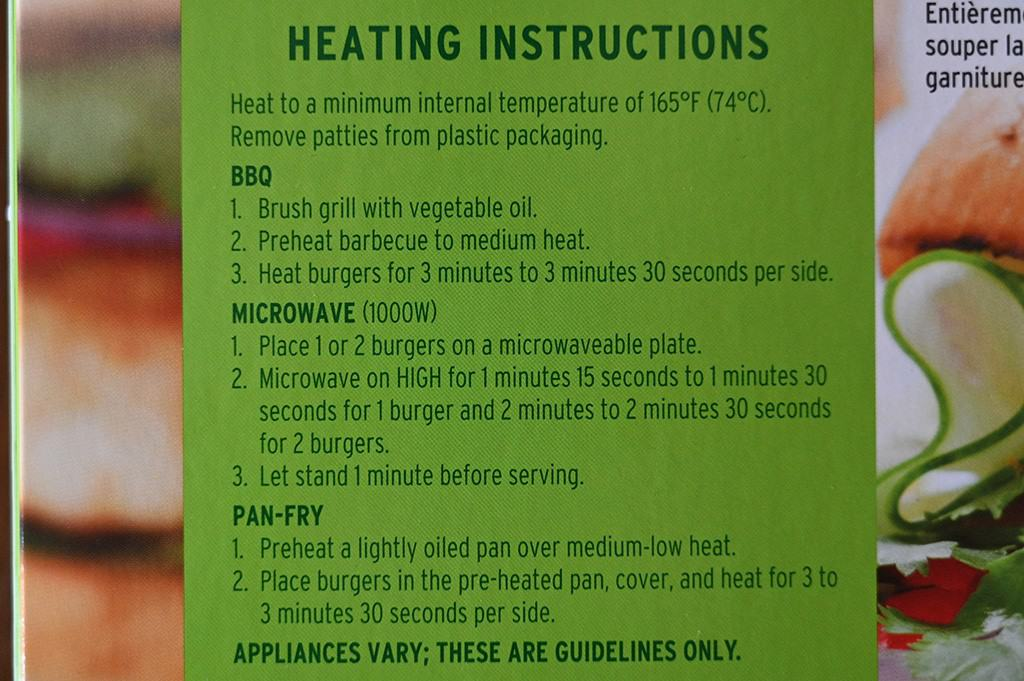 Costco Connie's Kitchen Chicken Burgers Cooking Instructions