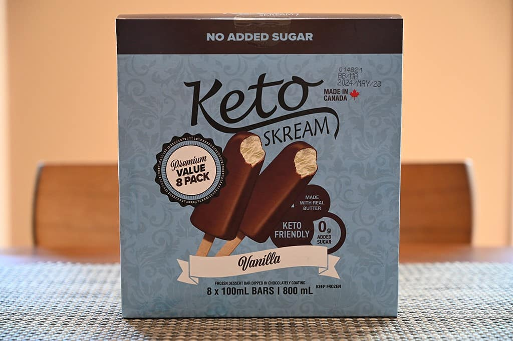 Costco Keto Skream Frozen Dessert Bars