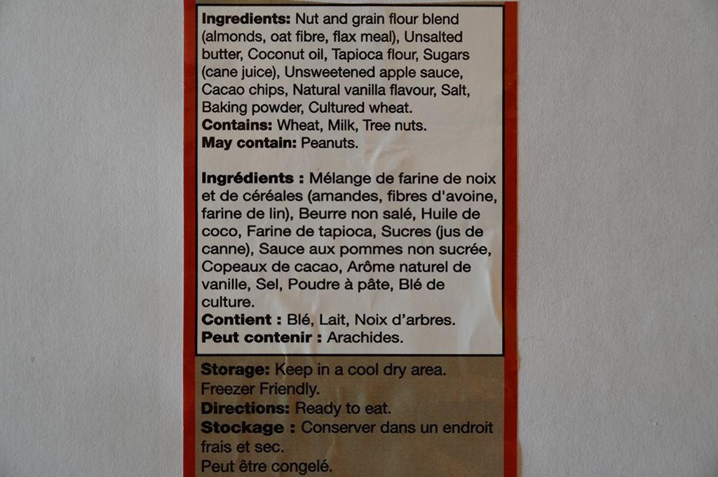 Costco Universal Bakery Keto Bites Ingredients