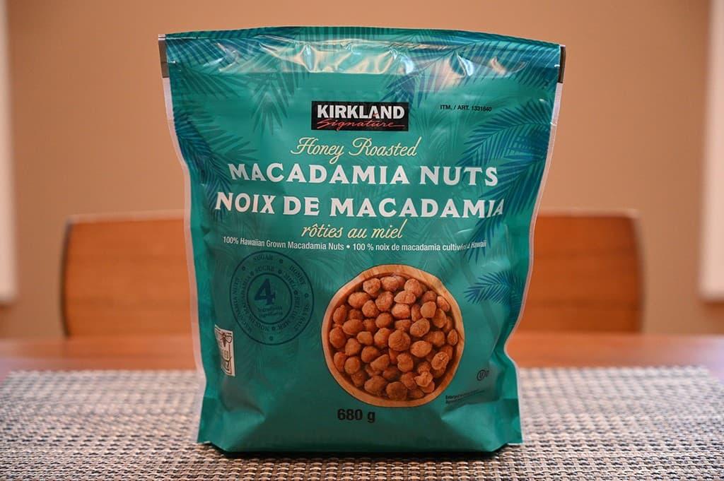 Costco Kirkland Signature Honey Roasted Macadamia Nuts