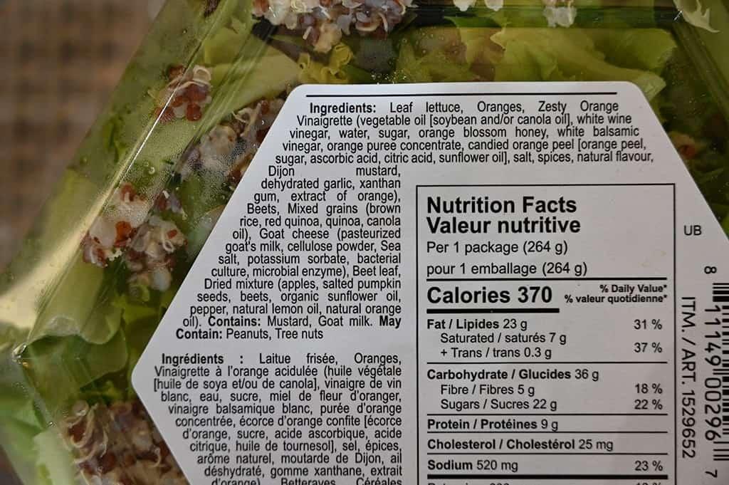 Costco Inspired Salads Unbeetable Salad Ingredients