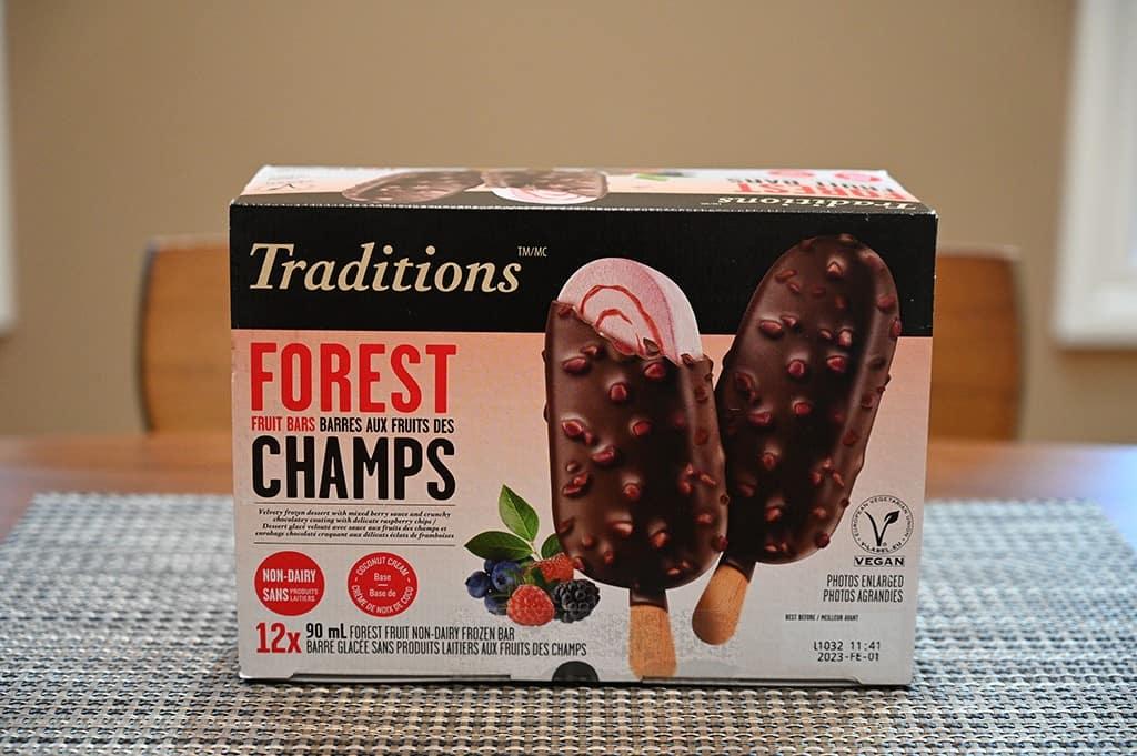Costco Vegan Traditions Forest Fruit Frozen Bars