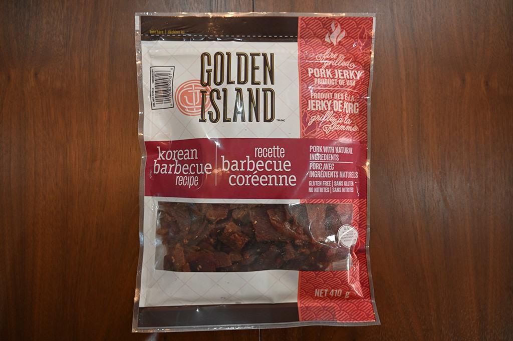 Costco Golden Island Korean Barbecue Pork Jerky