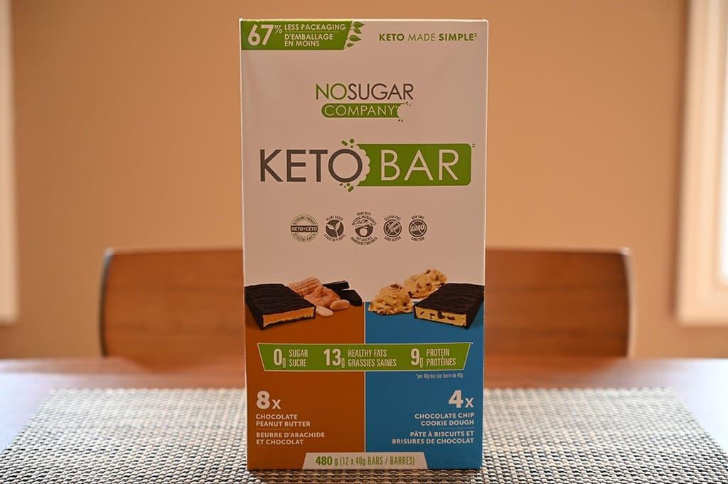 Costco No Sugar Company Keto Bars