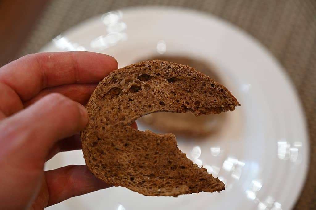 Costco Keto 1.0 All-In Bagel toasted