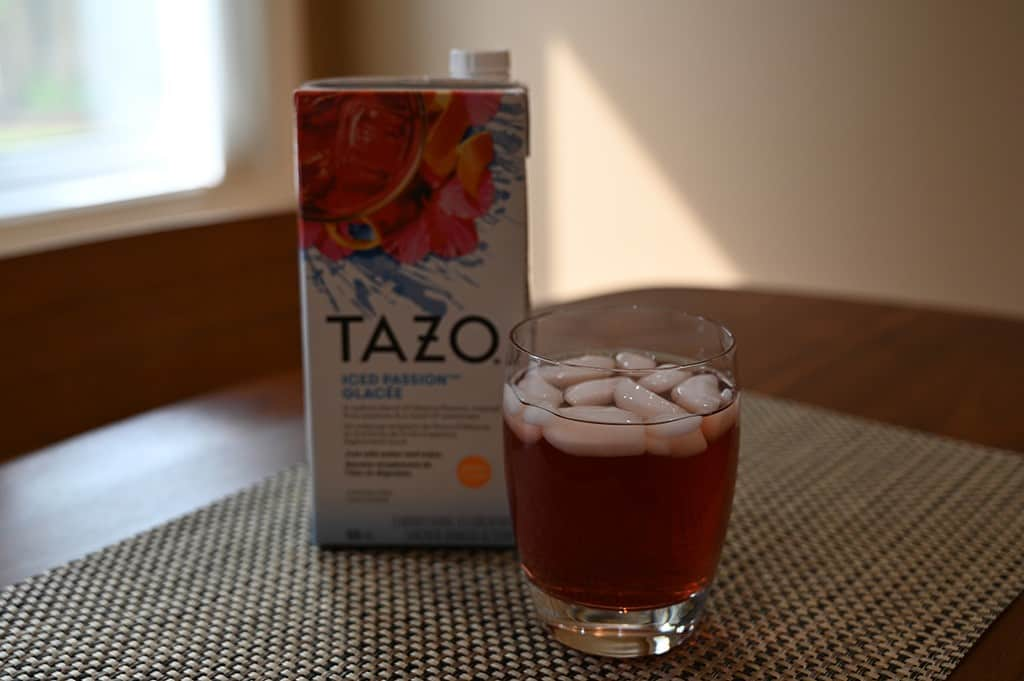 Costco Tazo Iced Passion Tea