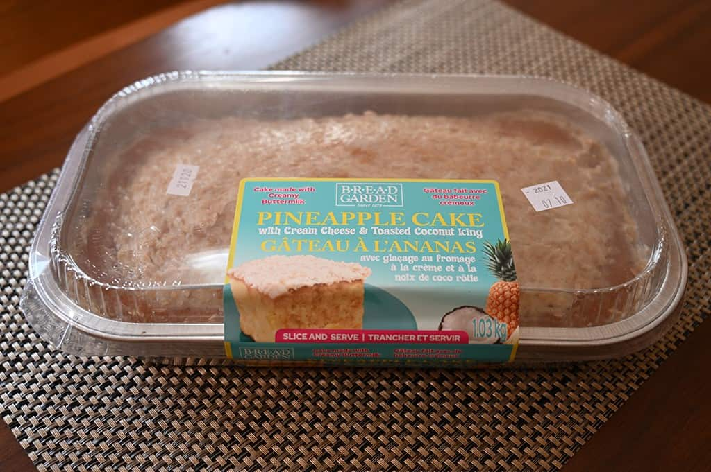 Costco Bread Garden Pineapple Cake