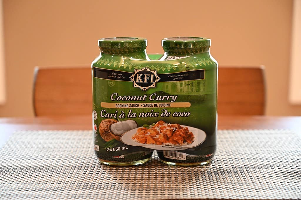 Costco KFI Coconut Curry Cooking Sauce