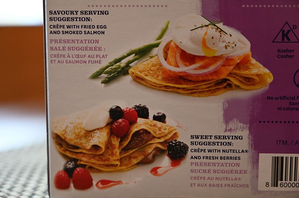 Costco Belgian Boys Traditional Crepes Serving Suggestions