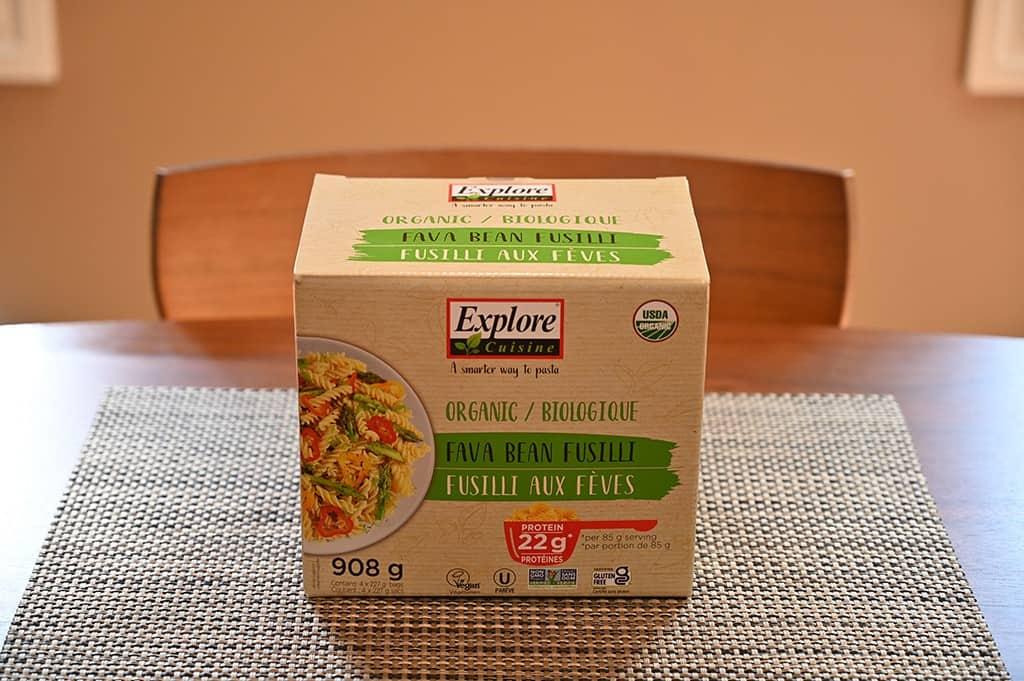 Costco Explore Cuisine Organic Fava Bean Fusilli