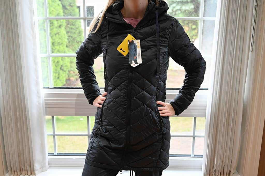 Costco Lole Packable Jacket Black