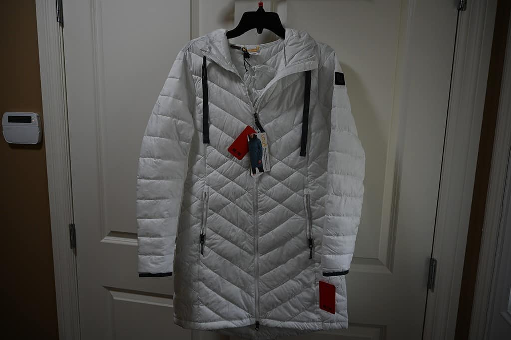 Costco Lole Packable Jacket White