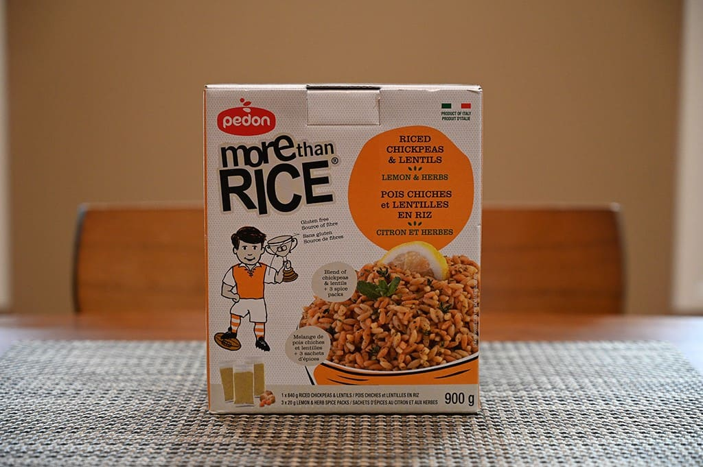 Costco Pedon More Than Rice Riced Chickpea & Lentils