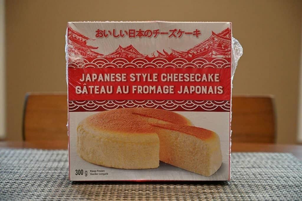 Costco Delcato Japanese Style Cheesecake box