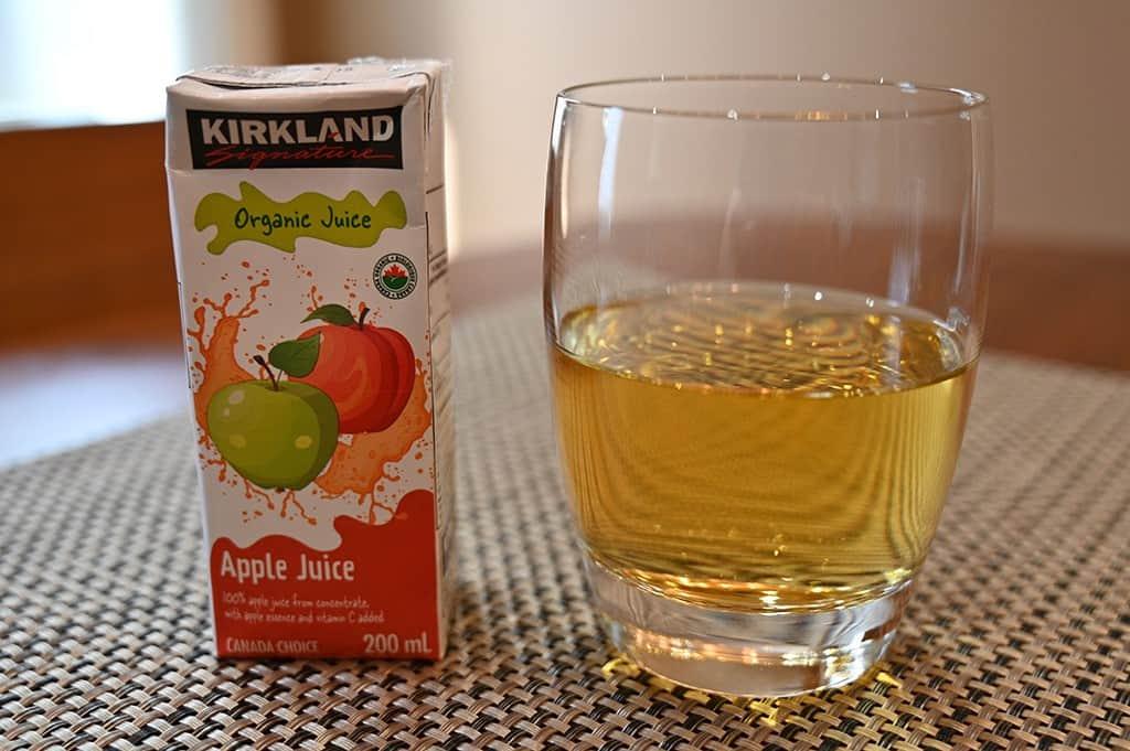 Costco Kirkland Signature Organic Juice Box Apple Juice