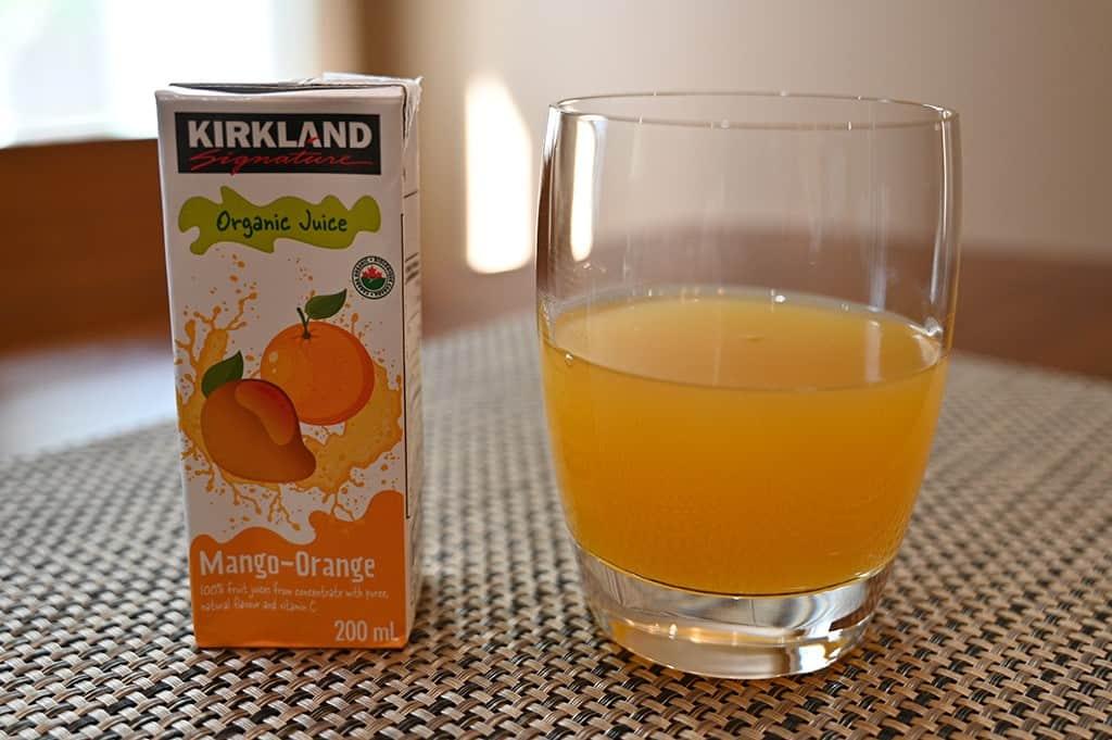 Costco Kirkland Signature Organic Juice Box Mango-Orange