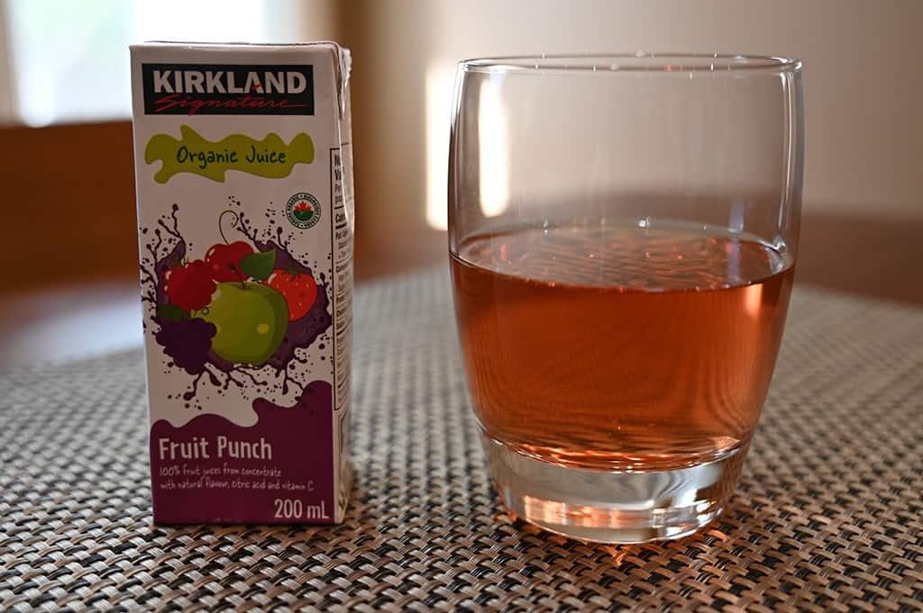 Costco Kirkland Signature Organic Juice Box Fruit Punch