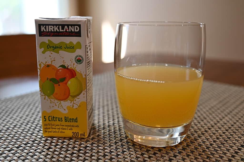 Costco Kirkland Signature Organic Juice Box 5 Citrus Blend