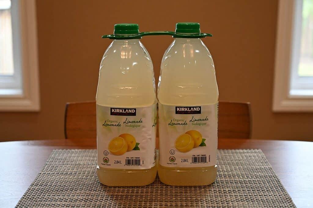 Costco Kirkland Signature Lemonade two-pack