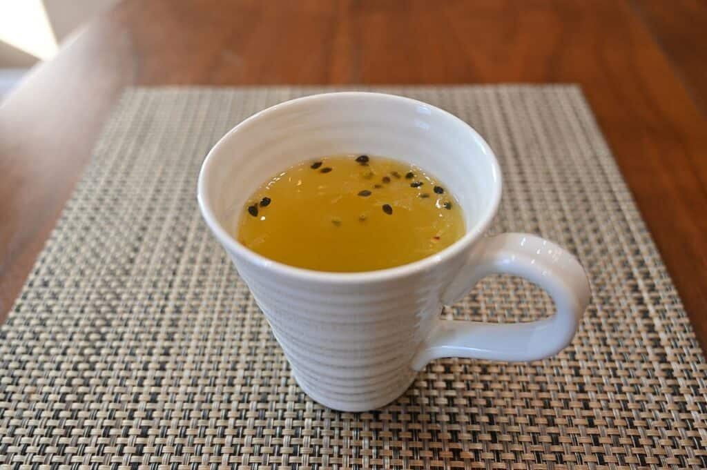 Costco Vonbee Passion Fruit Honey Puree as a tea