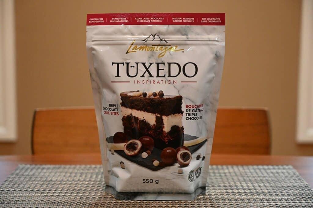 Costco Lamontagne Tuxedo Cake Bites bag