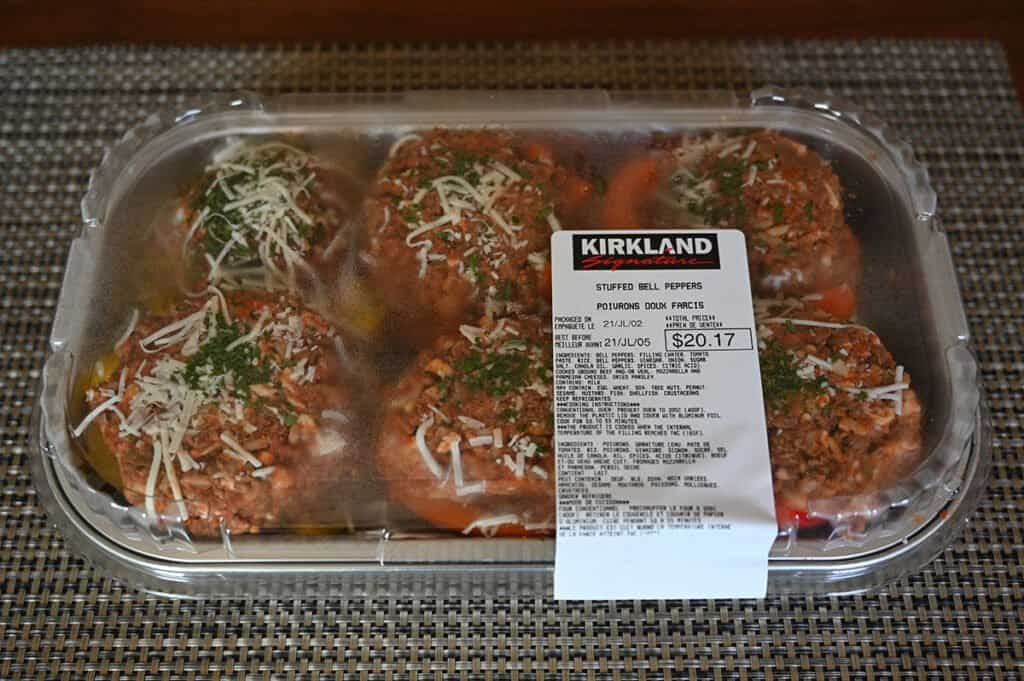 The Kirkland Signature Stuffed Bell Peppers.