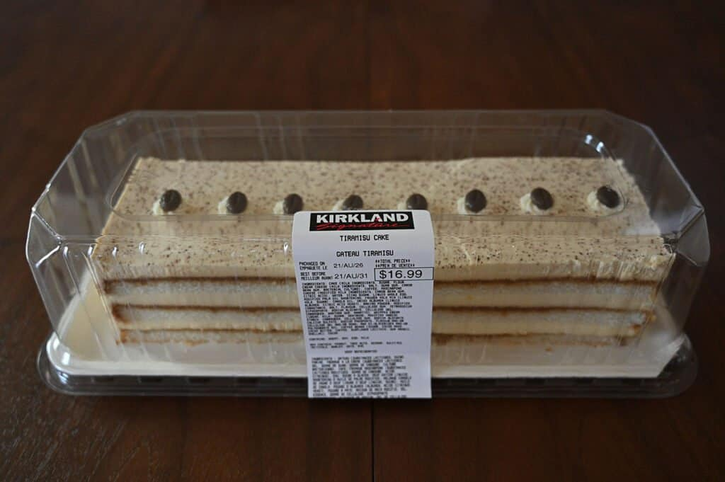 The Kirkland Signature Tiramisu Cake.