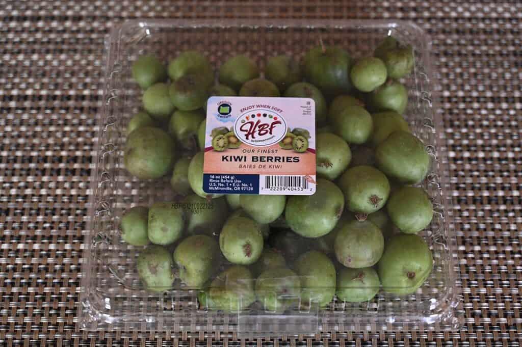 Costco HBF Kiwi Berries package of kiwi berries