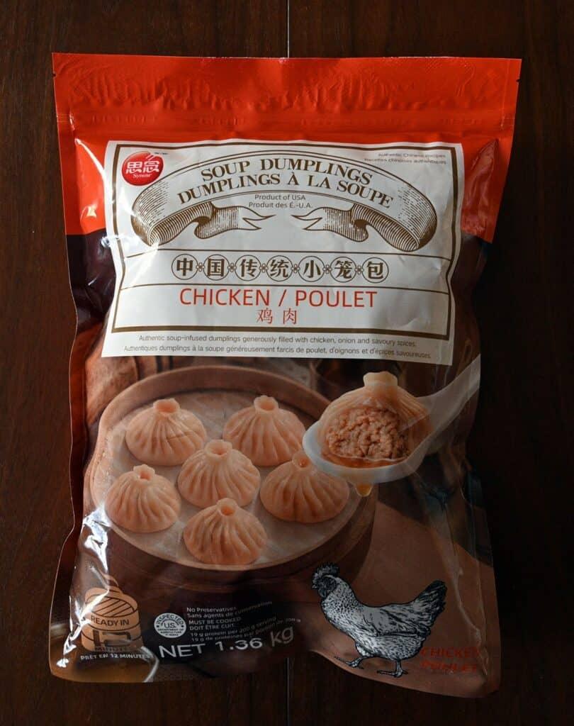 Costco Synear Soup Dumplings bag